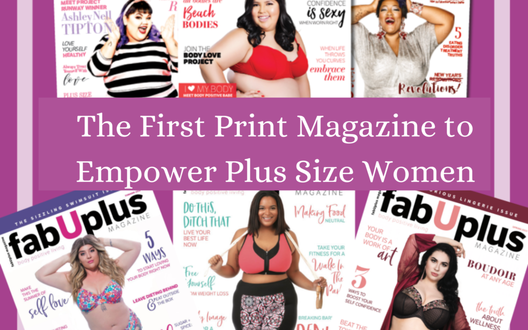 FabUplus Magazine is Returning to Print and at Nearby Stores