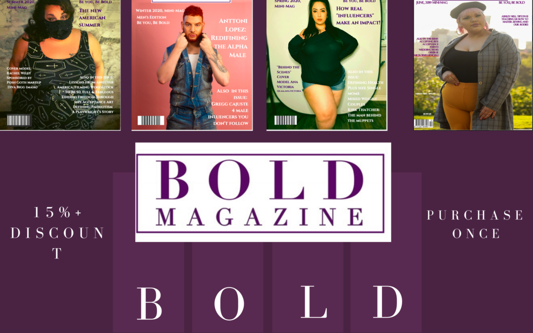 Subscribe to Bold Magazine